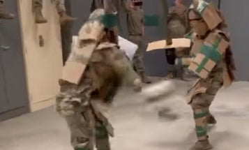 This video is a case study in how to combat boredom in the military