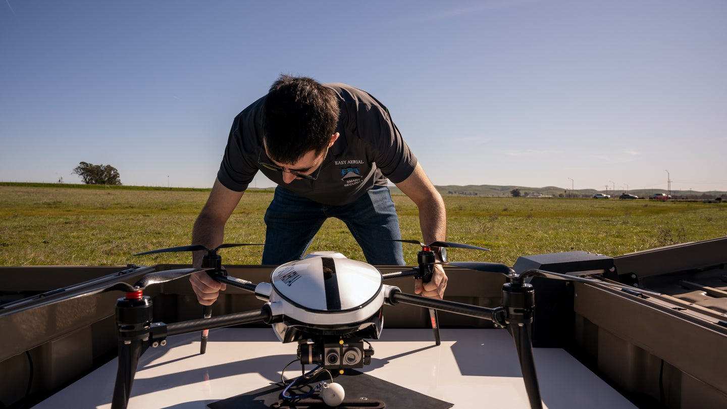 The Air Force's new drone-in-a-box is like 'scramble the fighters' for base security forces