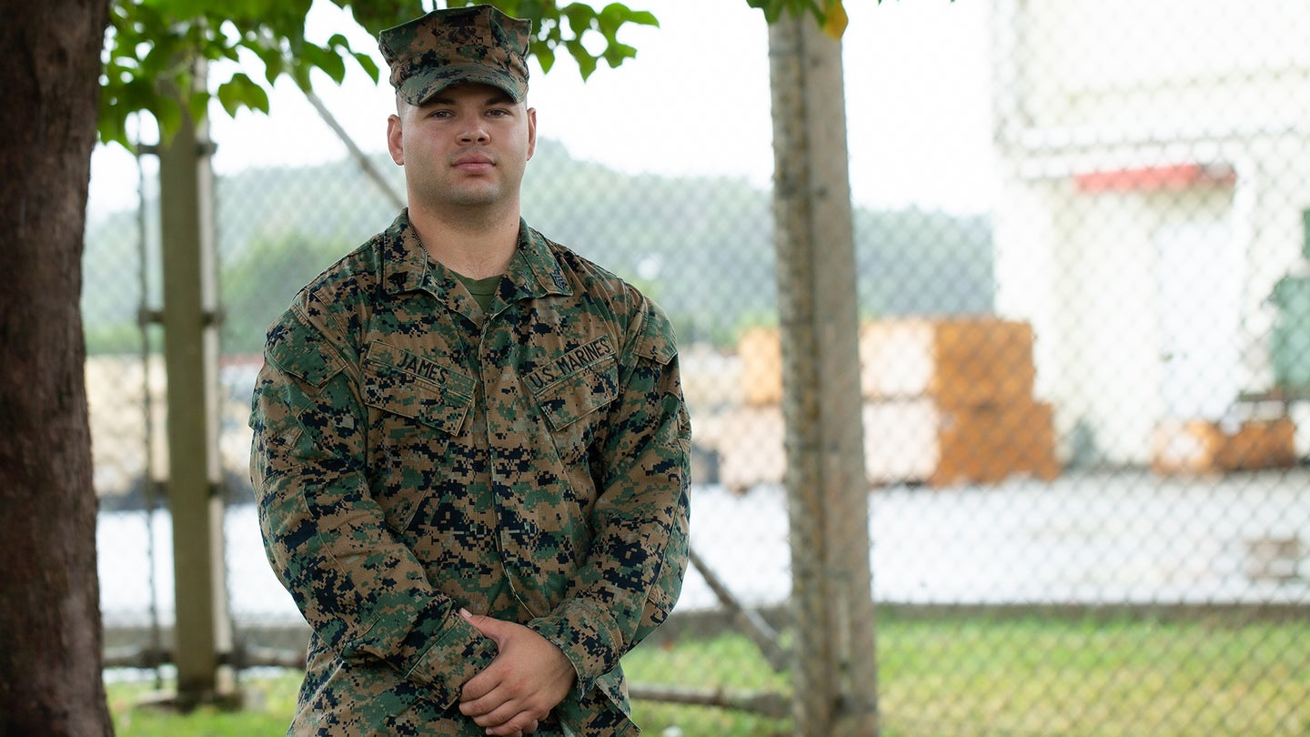 US Marine saves elderly woman's life after she was bitten by a Habu viper