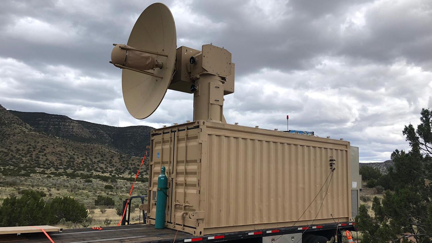 The Air Force has deployed its drone-killing microwave weapon to Africa