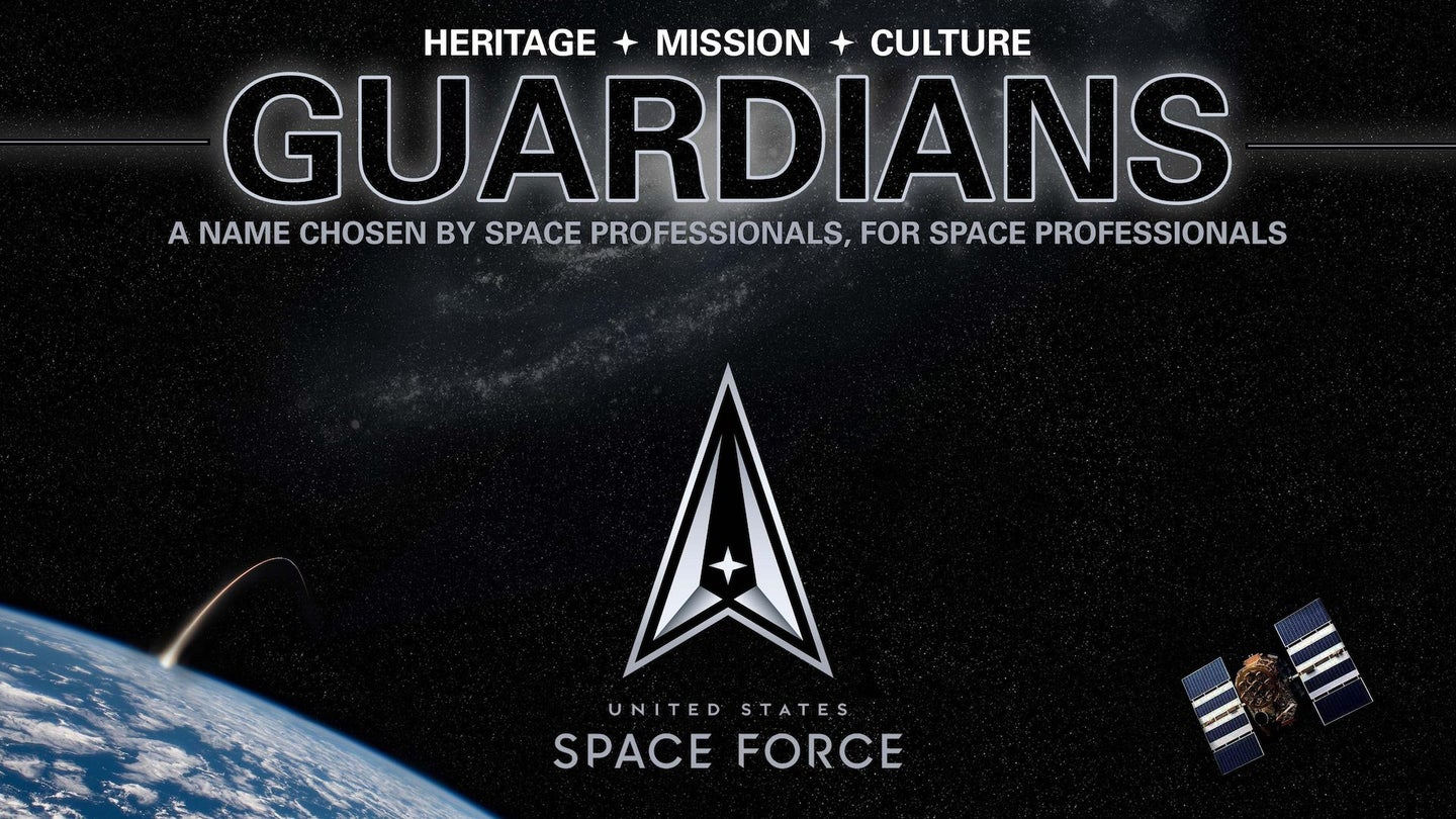 Space Force members will officially be called 'Guardians'