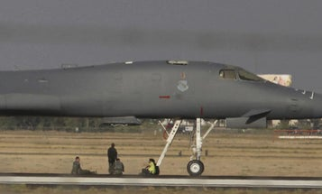 The Airmen Who Walked Away From That Fiery B-1B Landing Will Receive Medals For Heroism