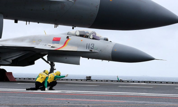 China's Carrier-Based Fighter Jets Keep Crashing And Burning