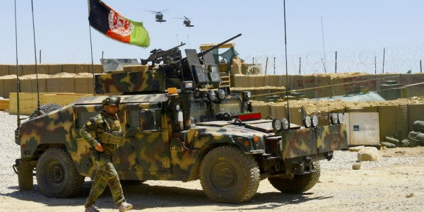 Green Berets And Afghan Special Forces Just Captured The ISIS 'Capital' In Afghanistan