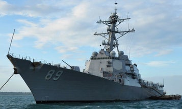 Navy Destroyers Just Rolled Through The Taiwan Strait For The First Time In A Year