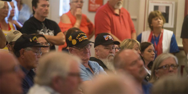 Vets Rip VA In Meeting Over 'Impaired' Doctor's Misdiagnoses