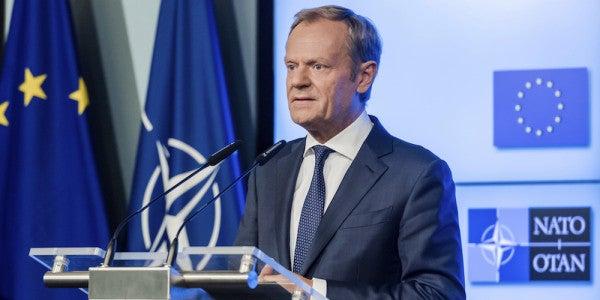 The EU's President Delivered A Sharp Retort To Trump Over His NATO Pressure
