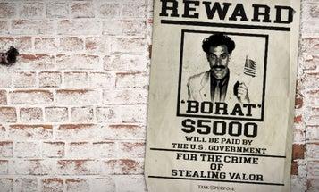 Borat Stole My Valor And I Want It Back