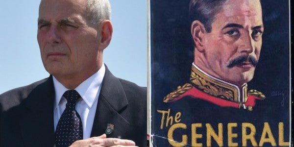 What, If Anything, Did John Kelly Learn From Re-Reading 'The General'?