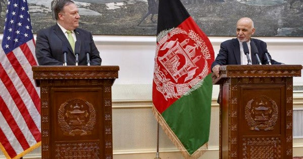 Pompeo: The Taliban, Who Live In Afghanistan, Cannot 'Wait Us Out'