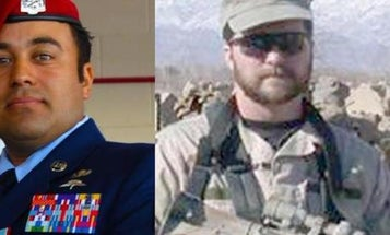 Air Force Cross Recipient: It's 'Remarkable' A Fellow Airman Is Up For The Medal Of Honor