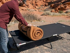 Wake up on the right side of the tent with the best camping cots
