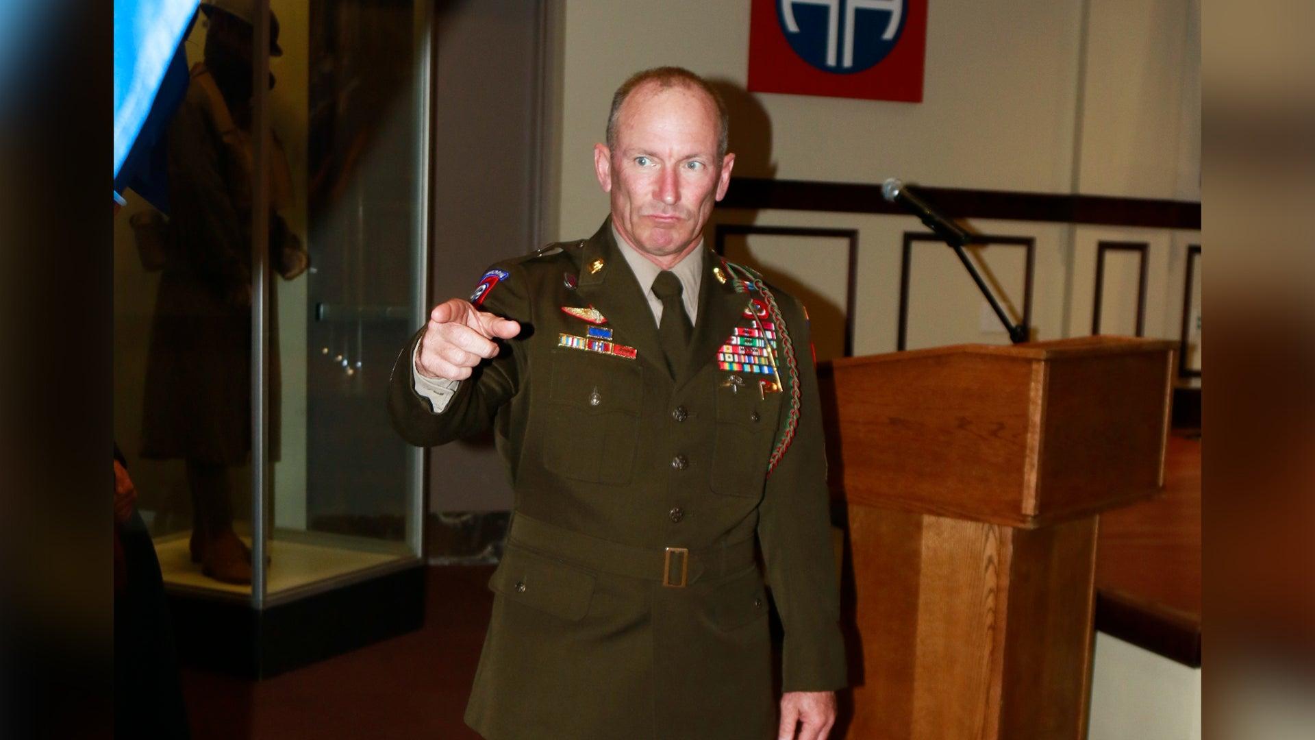 Fort Hood command sergeant major suspended over 'unprofessional language'