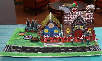 An Army unit held a gingerbread house competition to stop sexual assault for some reason