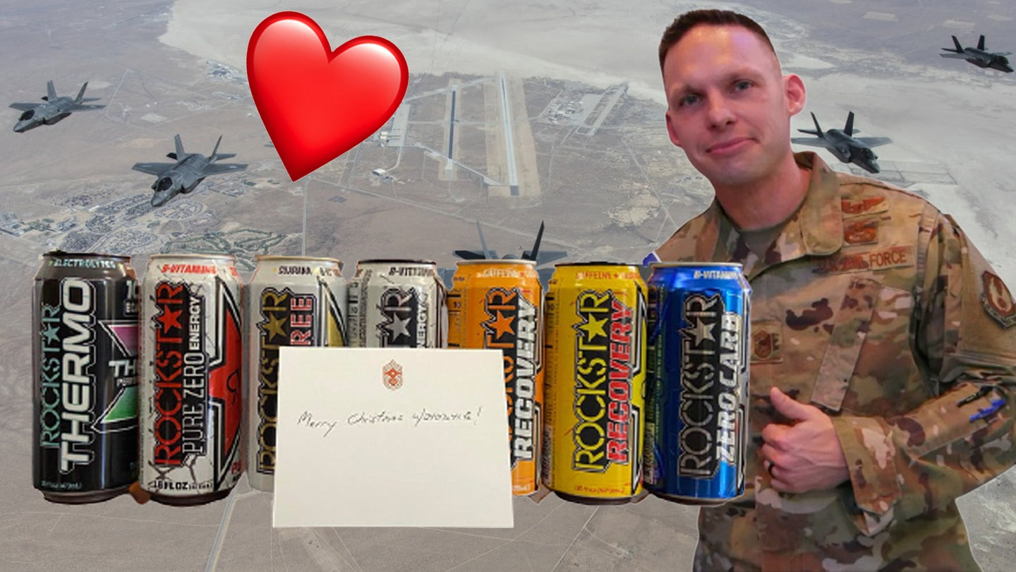We salute the Air Force chief who smoked turkeys and bought Rockstars for his airmen when the commissary ran out
