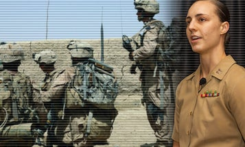 This Marine captain figured out exactly how many pounds equal pain in combat