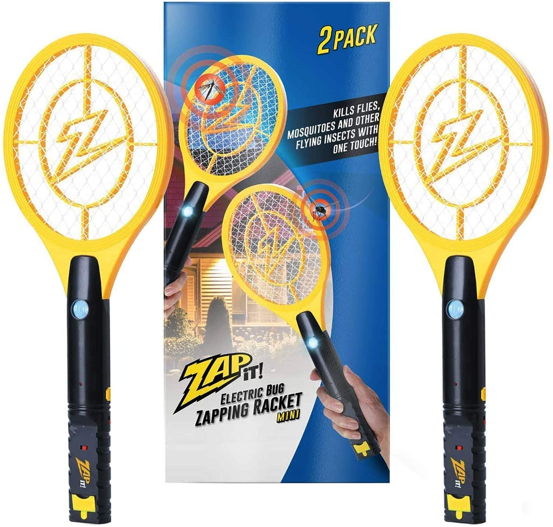 Zap It Bug Zapper Racket Set