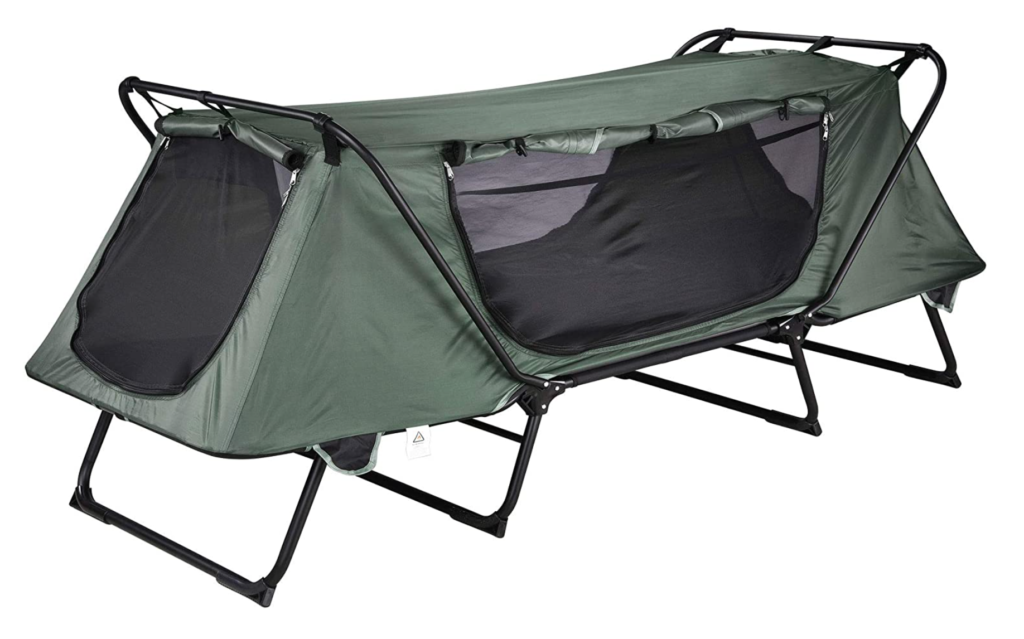 Wake up on the right side of the tent with these 6 camping cots