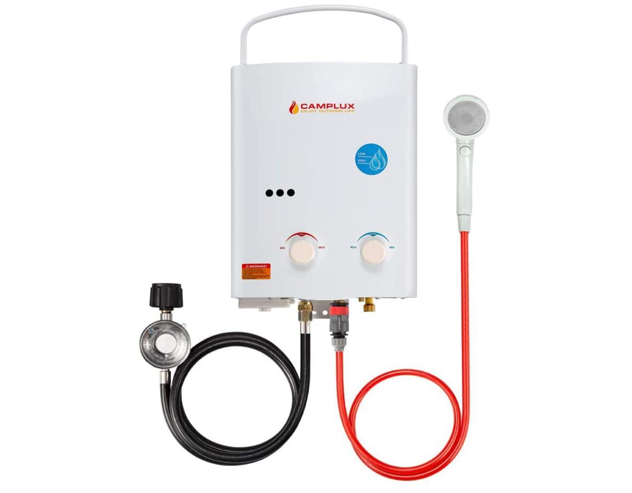 3-Camplux Outdoor Water Heater