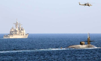 Navy sends guided-missile submarine into Persian Gulf in not-so-subtle message to Iran