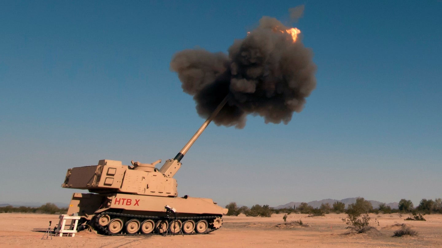 Watch the Army's new supergun absolutely wreck a target from 43 miles away