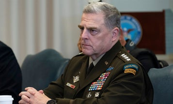 Gen. Mark Milley definitely has a tattoo and the mystery is killing me