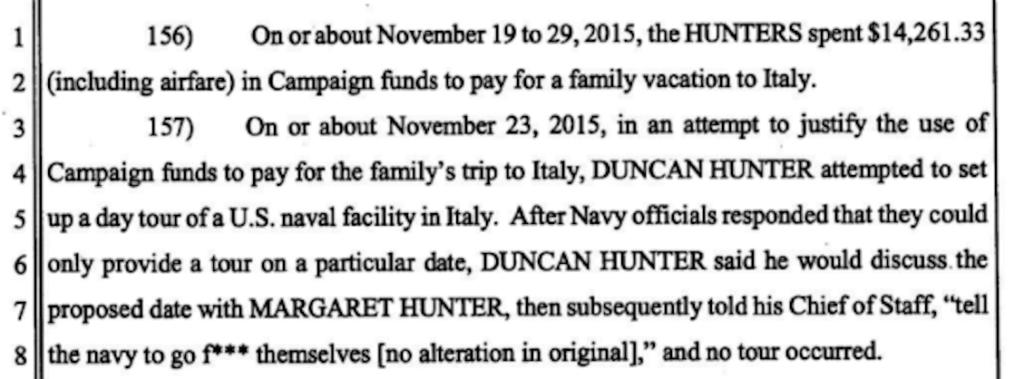 Trump pardons Marine veteran-turned-scumbag congressman Duncan Hunter