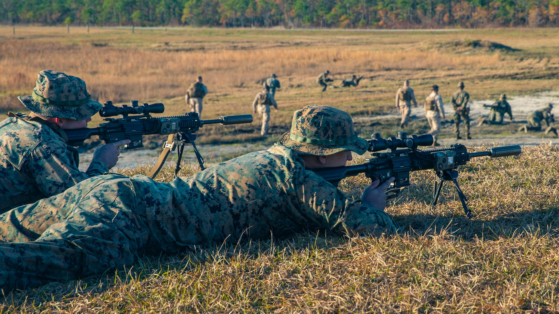 The Marine Corps has started fielding suppressors to infantry squads