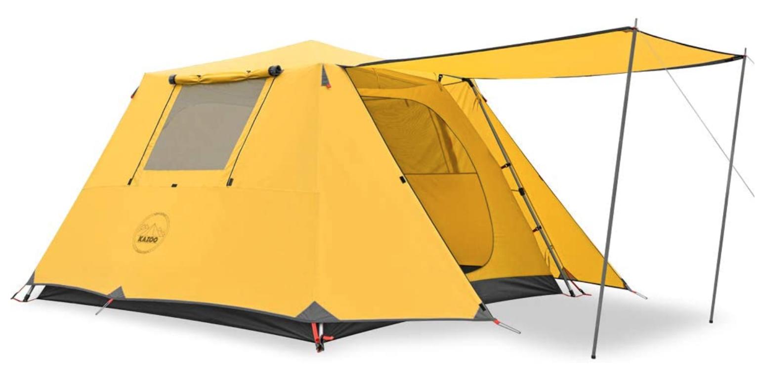 Kazoo cabin tent
