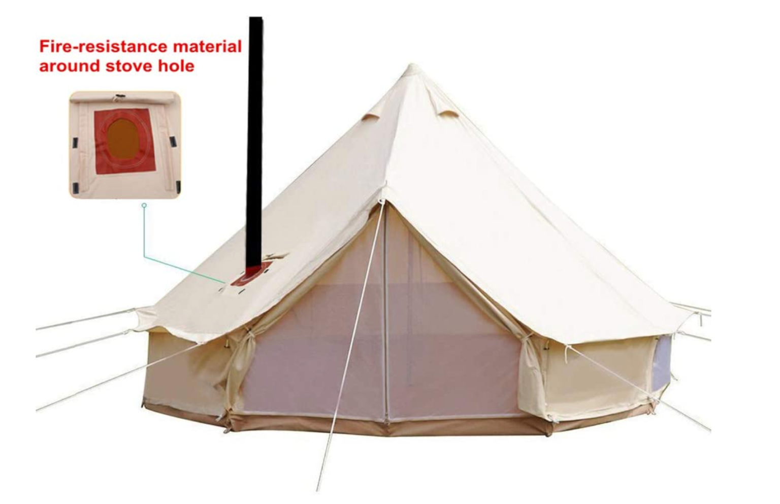 Unistrengh cabin tent