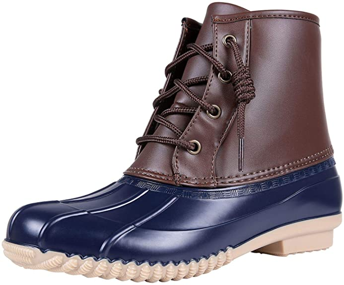 Colorxy Women's Duck Boots