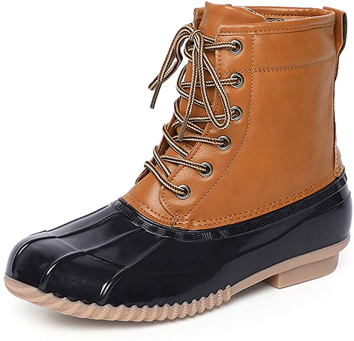 Chenghe Women's Winter Duck Boots