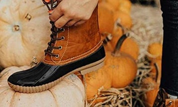 Keep your feet dry with the best duck boots for women
