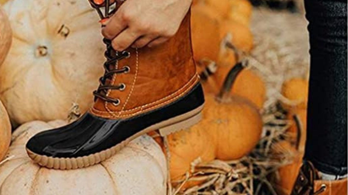 Duck Boots For Women