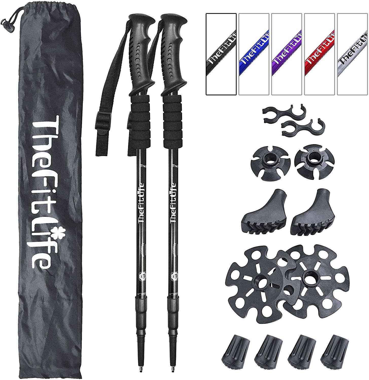 TheFitLife Nordic Walking Sticks