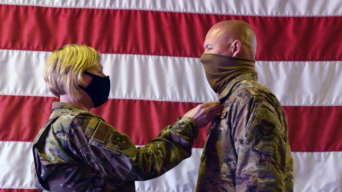 'I knew I needed to do something' — Airman awarded for braving rocket fire to treat wounded during Camp Taji attack