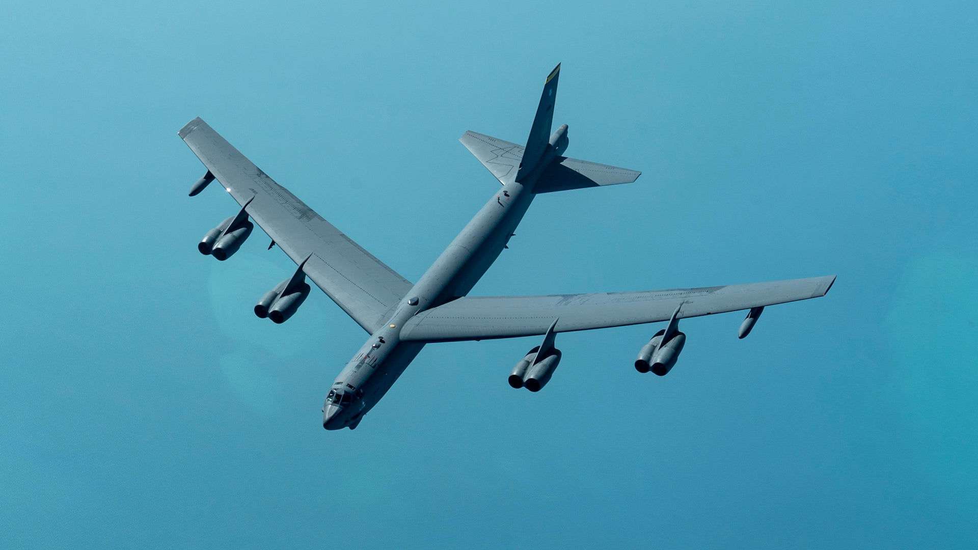 B-52s fly over the Middle East in another rattle of the saber at Iran