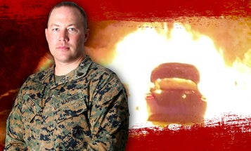 'I don't think I'm special' says Marine who rescued a baby from a burning car