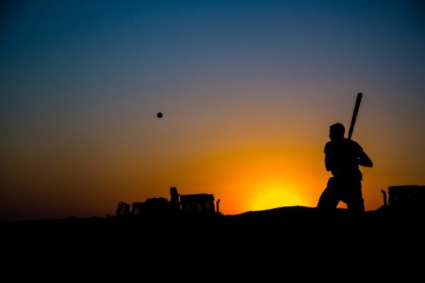 US Troops Enjoy Two American Pastimes At A Fire Base In Iraq: Baseball And Shelling ISIS