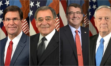 10 former defense secretaries call on Pentagon leaders to keep the military out of election politics
