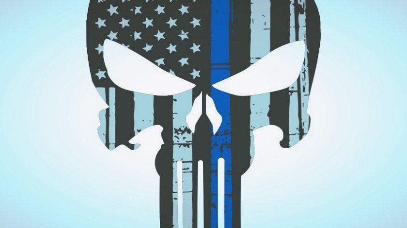 No, Cops Shouldn't Be Rocking The Punisher Skull