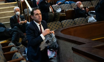 This Army Ranger-turned-Congressman was last out of the House chamber during the Capitol riots