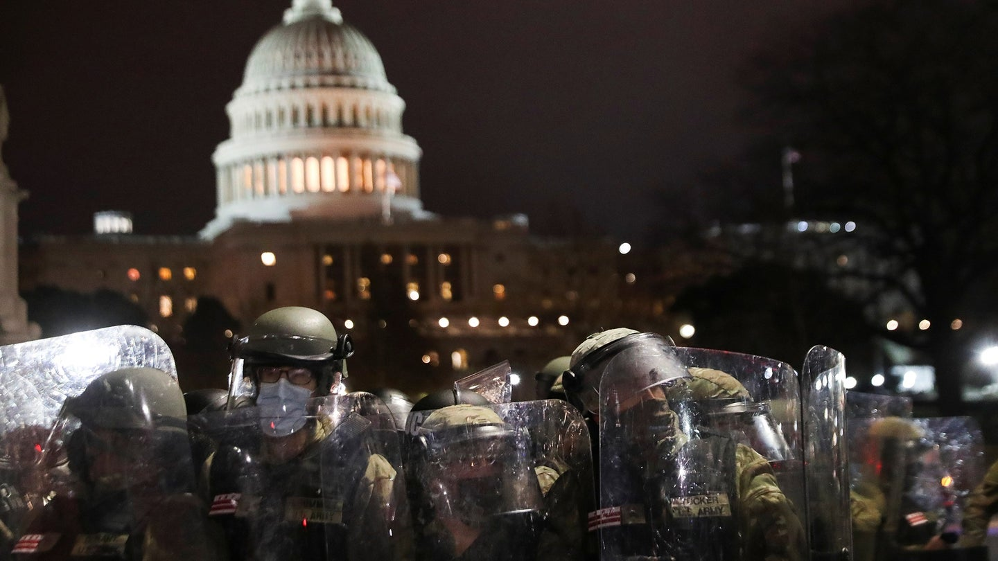 The National Guard's response to the Capitol Hill riots: Everything you need to know