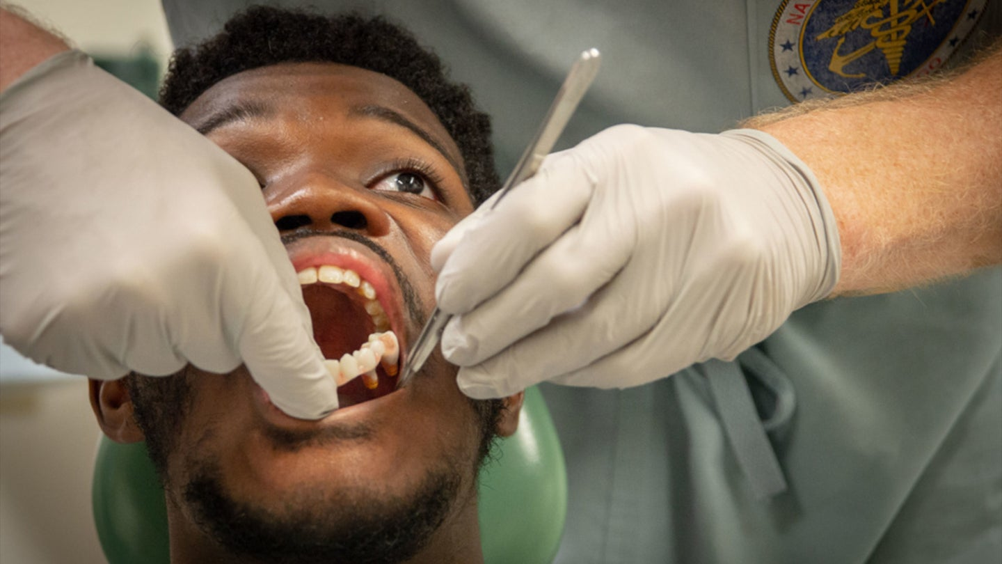 This Marine's new jaw was made out of his leg bone in a breakthrough new surgery