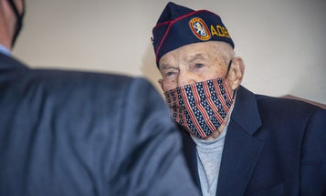 He spent three years as a POW during WWII. Now he's finally being recognized for his heroism