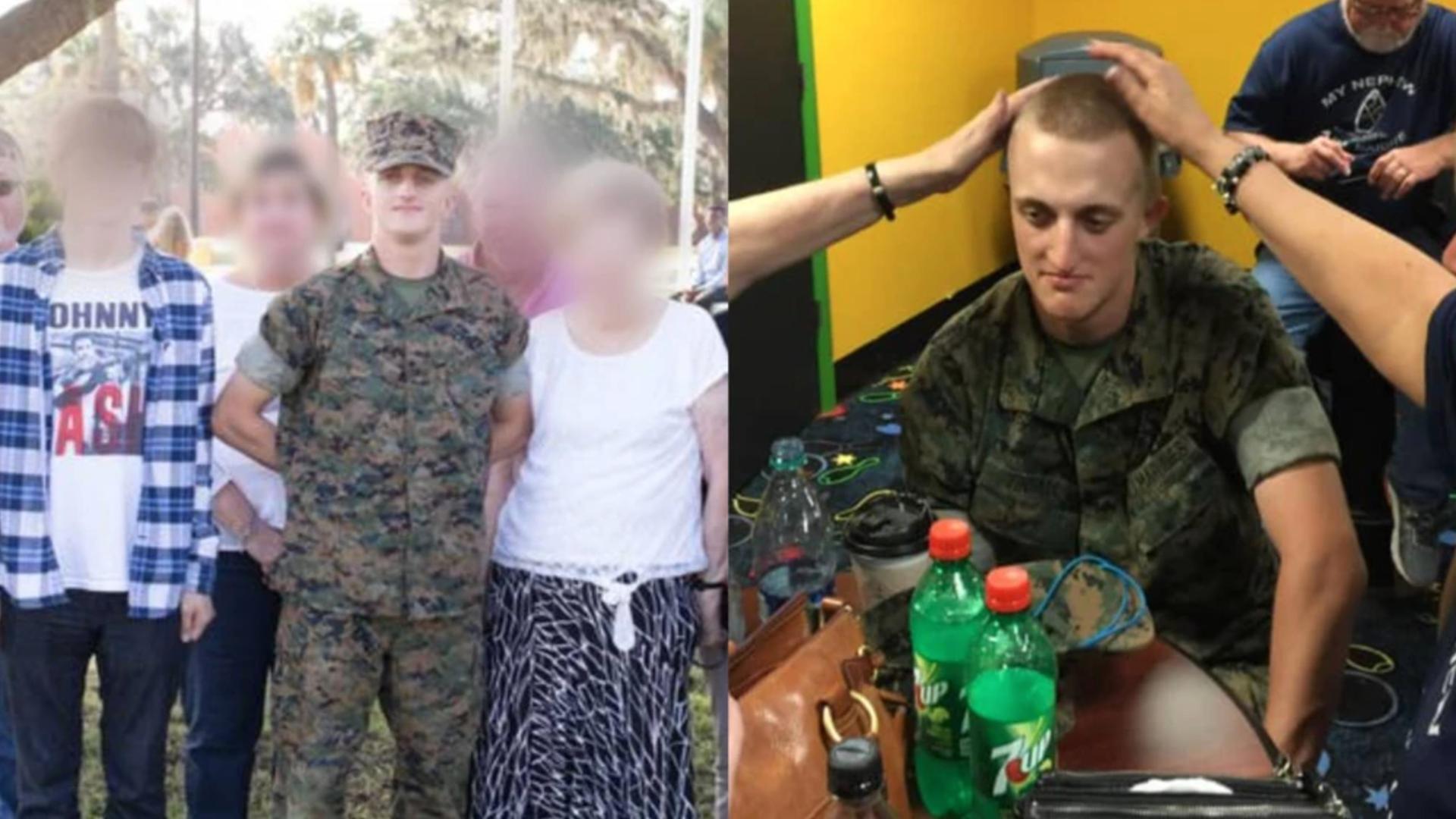 Marine veteran linked to alleged domestic terror plot