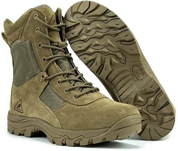 "Ryno Gear 8"" Coolmax Tactical Combat Boots"