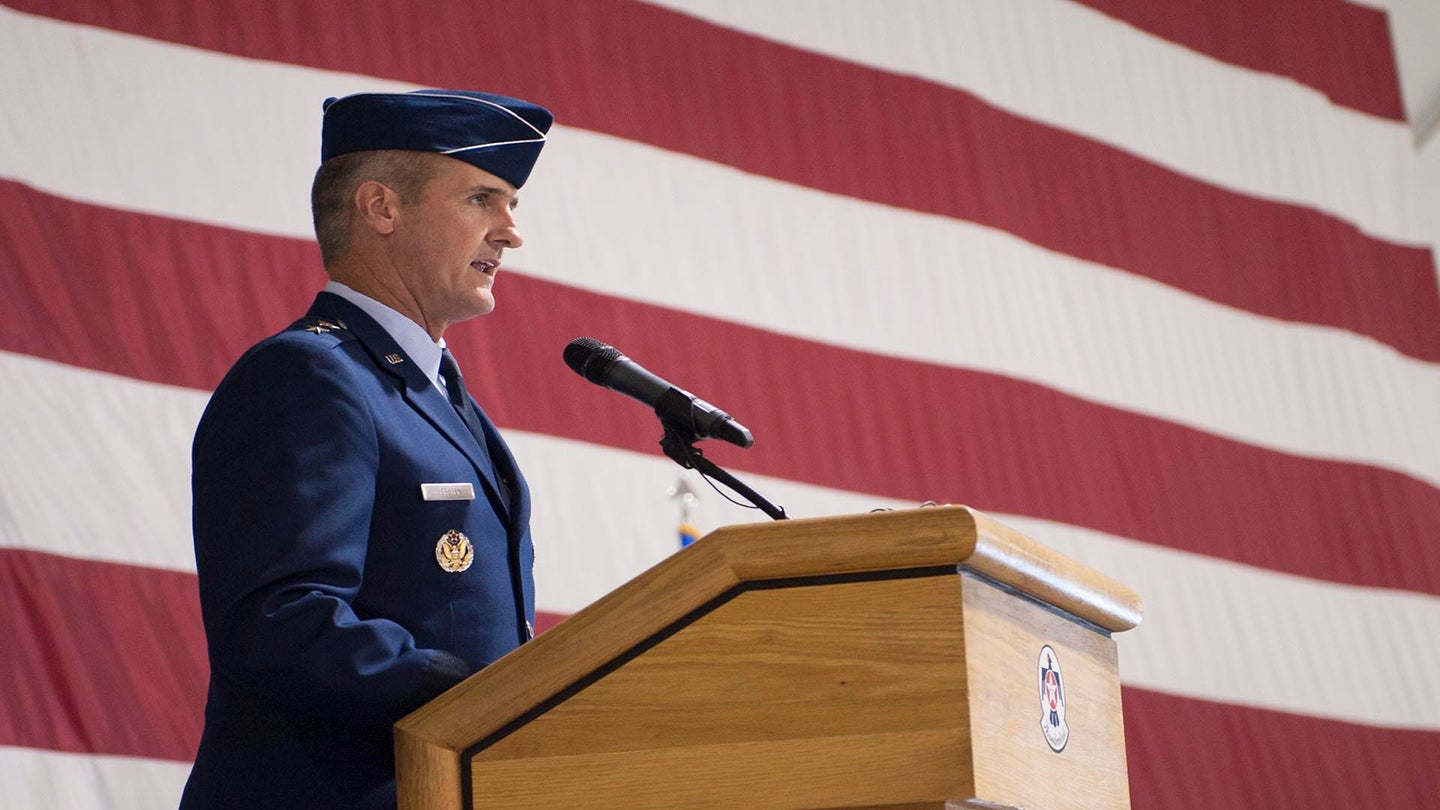 Two-star Air Force general demoted to colonel for affair with subordinate