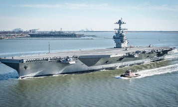 The Navy's $13 billion supercarrier still can't do the one thing it's absolutely required to do