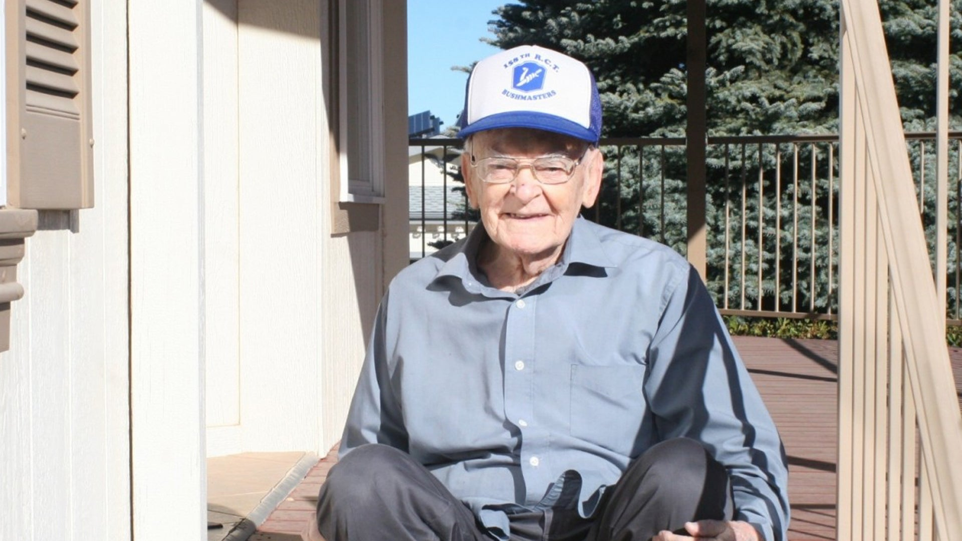 We salute this World War II veteran for surviving two pandemics a century apart